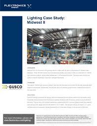 Midwest Lighting Michigan Lighting Case Study Midwest Ii