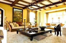 tuscan living room decor decorating rustic with synthetic area