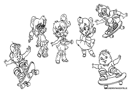 Dazzling Alvin And The Chipmunks Coloring Pages Alvin And The ...