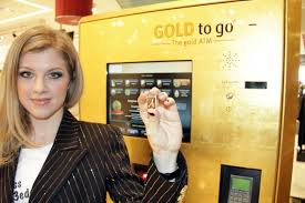 Gold To Go Vending Machine Custom Dubai Galeries Lafayette The Dubai Mall GOLD To Go™ Der Erste