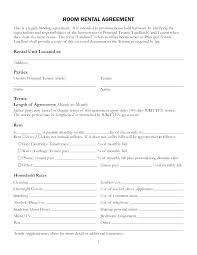 Room For Rent Application Tenant Rental Application Template