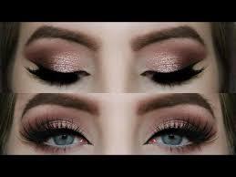 rose gold smokey eye tutorial