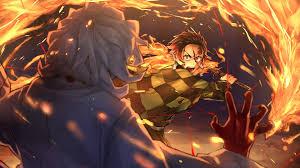 Free download Tanjiro vs Rui Kimetsu no ...