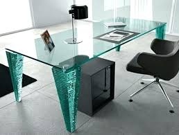 glass top office table. Glass Top Office Desk Australia With Storage Excellent Modern Wonderful Enchanting Inside Corner D Table
