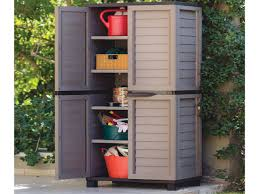 Wooden Storage Cabinets With Doors Storage Impressive Grey Outdoor Storage Cabinet From Plastic With