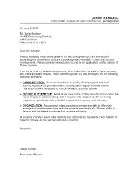 Sample Resume For Career Change Sample Cover Letter Changing Careers