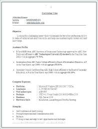 Best Formats Of Resume – Amere