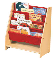 Library Book Display Stands Red Canvas Book Display KidsDecorGalore Teacher's Trunk 25