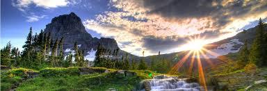 beautiful landscape waterfall wallpaper
