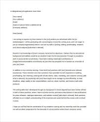 cover letter student cover letter for student 10 free word pdf format download free