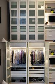built in bedroom closet lovely the ikea home tour squad built a custom pax wardrobe in their