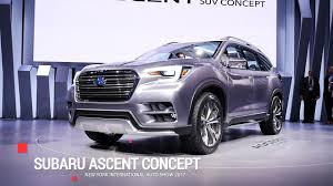 2018 subaru ascent specs. modren subaru in 2018 subaru ascent specs