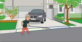 driveway ramp installation diy step 2