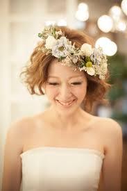 ウェディング 花嫁 髪型 ボブ Sanpatsu