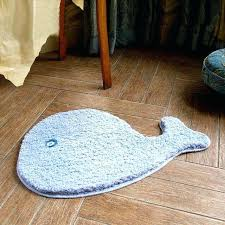 microfiber cute cartoon animal dolphin shaped rugs and carpet for bath mat living room childrens