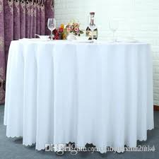 120 inch table cloth table cover round for banquet wedding party decoration tables satin fabric table clothing wedding tablecloth home texti tablecloth for