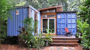 Container Home Design Small House Created From Recycled Shipping Containers Youtube