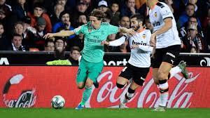 LIVE Valencia - Real Madrid - Liga - 15 dicembre 2019 ...