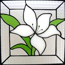 Easy Stained Glass Patterns Adorable Easy Stained Glass Patterns Stain Glass Flower Patterns Popular