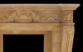 marble fireplace mantel hand carved decorative fireplace mantel