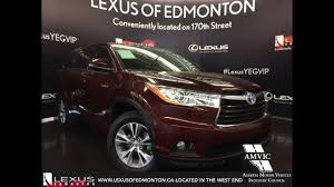 Used 2015 Red Toyota Highlander Hybrid 4WD LE In Depth Review ...