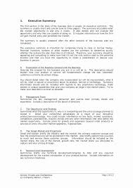 Executive Summary Sample For Proposal Sample Executive Summary Proposal Capriartfilmfestival