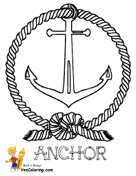 coloring pages of anchors last chance bloodbro 8102 unknown best anchor page