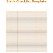 Checklist Blank Template 50 Printable To Do List Checklist Templates Excel Word 115224987626