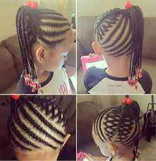 Quick Hairstyles For Braids Little Girl Braided Hairstyle Super Cute Fashion Style