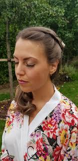 bridal hair and make up by sarah