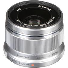<b>Объектив</b> Olympus <b>M</b>.<b>Zuiko Digital 25mm</b> f/1.8, серебро ( купить в ...
