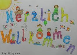 Herzlich Willkommen Przedszkole Kindergarten Willkommen