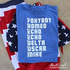 These are not phonetic alphabets as in those used to guide pronounciation, rather they are a selection of alphabets used, particularly by radio operators, to spell out words. Freedom Phonetic Alphabet Patriotic Shirt Made With Cricut Maker