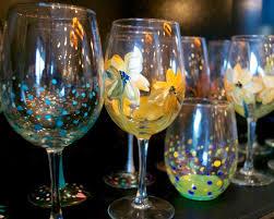 glassware painting in columbus