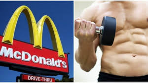 what to eat at mcdonald s after a workout