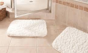 memory foam bathroom rugs memory foam cushioned bath rug runner 22 x 60
