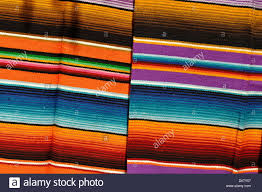 mayan mexican colorful blankets stock photo royalty free image