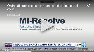 WOODTV: Online Dispute Resolution keeps Small Claims out of Court | Get  Matterhorn