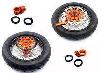 ktm supermoto wheels ebay