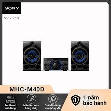 Voucher 500k] Dàn âm thanh Hifi Sony - MHC-M40D//C