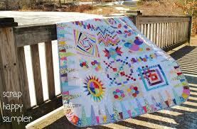 7 Stunning Sampler Quilt Patterns & Scrap Happy Quilt Blocks BOM Adamdwight.com