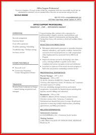 Resume Word Doc Template Apa Example