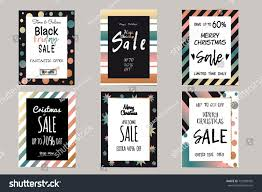 Collection Elegant Shiny Templates Christmas Sales Stock