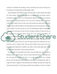 Short Essay About Campus Life