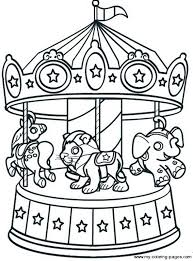 Small Picture Carousel Coloring Pages Cecilymae