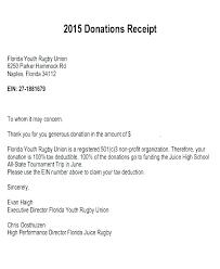 charitable contribution receipt letter charitable donation letter sample glotro co