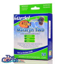 fritz aquatics mardel maracyn two 24 count aquarium treatment supplement