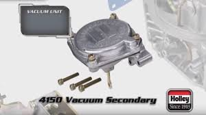 Overview Of The Holley 4150 Vacuum Secondary Carburetor