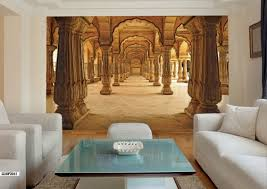 Small Picture Indian Palace Corridor 3D Wallpaper Other things I like