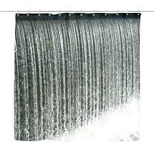 black and white fabric shower curtain ruffled fabric shower curtain large size of shower curtains black